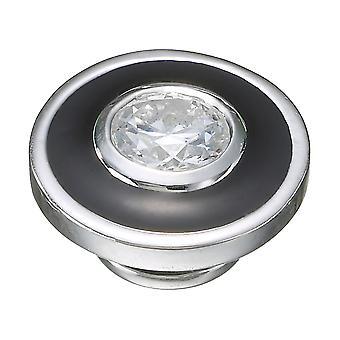 KAMELEON Ebony Halo Sterling Silver JewelPop KJP433