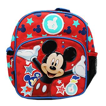 Mini Backpack - Disney - Mickey Mouse Magic Stars School Bag New 129431