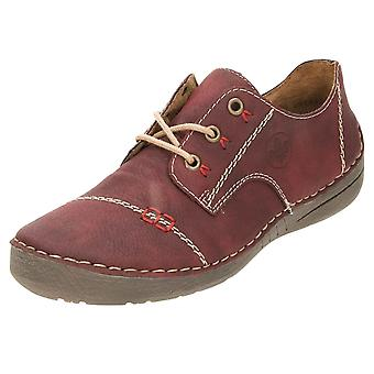 Rieker Lace Up Flat Loafer Shoes 52520-35