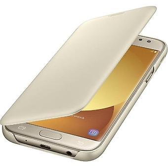 Samsung EF-WJ530CFE Wallet Cover Case Galaxy J5 2017 gold