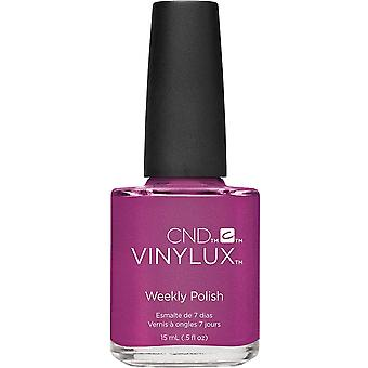 CND vinylux Art Vandal Weekly Nail Polish 2016 Colour Collection - Magenta Mischief (209) 15ml