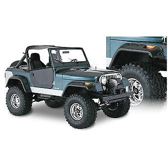 Bushwacker 10910-07 FF Jeep Cutout 4Pc