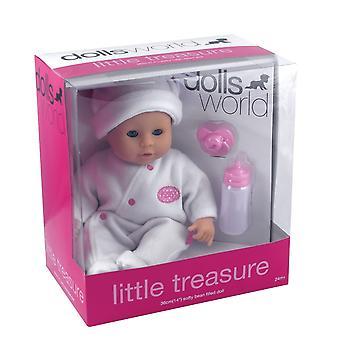 Mundo de muñecas pequeño tesoro (blanco)