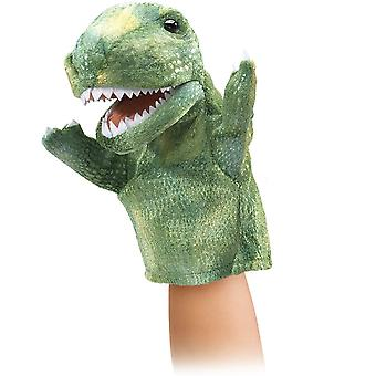 Hand Puppet - Folkmanis - Little T-Rex New Animals Soft Doll Plush Toys 2997
