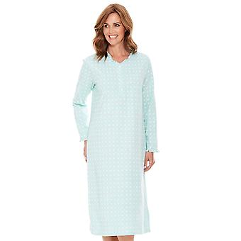 Chums Ladies Nightdress Frill Neck