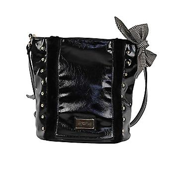 For Time Bolso Cube with Tachuelas - Black Women's Shoulder Bags (Negro) 16x26x29 cm (W x H L)