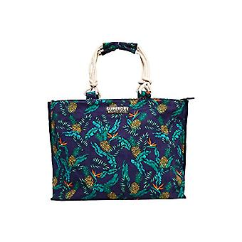 Superdry Amaya Rope Tote Multicolore Women's Handbag (Pineapple Print) 56x36x16 cm (W x H x L)