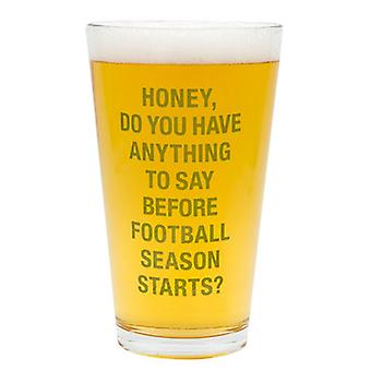 Say What Pint Glass