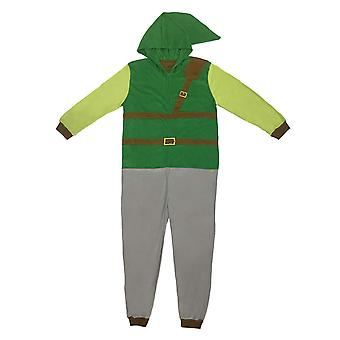 The Legend Of Zelda Men's Link Pajama Union Suit