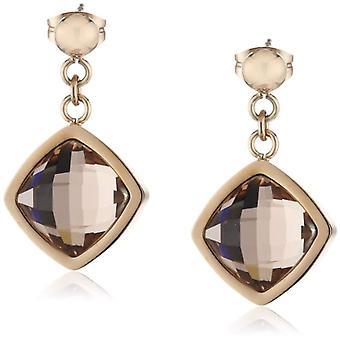 s.Oliver - Damen Anhänger Ohrringe aus Edelstahl mit Kristall