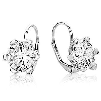 Miore Earrings Silver Woman with Brilliant Cut Zirconi Silver 925