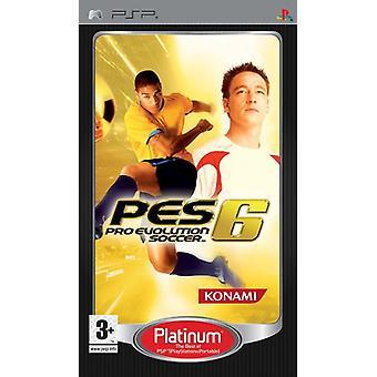 Pro Evolution Soccer 6 (PSP)-ny