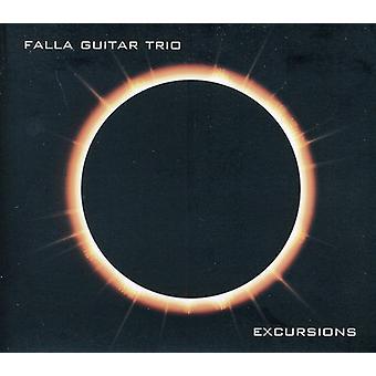 Falla Guitar Trio - Ausflüge [CD] USA import