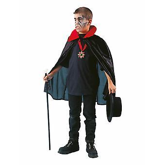 Dracula Kids Costume Cloak Cape Kids Costume with Collar