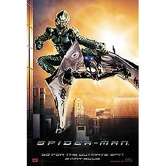 Spiderman (Green Goblin Advance Reprint) (Double Sided) (Uv Coated/High Gloss) Reprint Poster