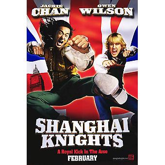 Shanghai Knights (Single Sided Advance) (2003) Oryginalny plakat kinowy
