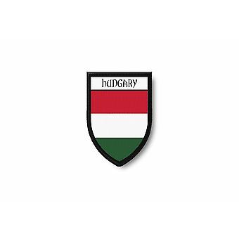 Patch Ecusson Termocollant Edge Brode Flag Prints Hungarian Hungary