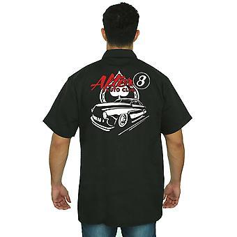 Men's Mechanic Work Shirt Alter Auto Club
