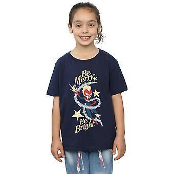 Marvel Girls Be Merry Be Bright T-Shirt