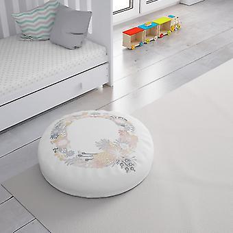 Meesoz Floor Cushion - Letter Girl- Q