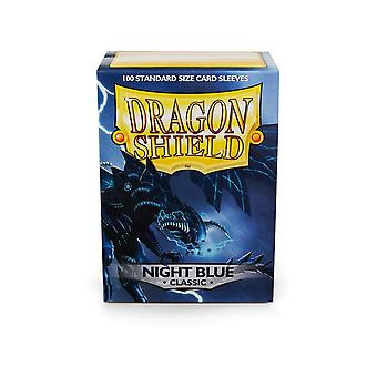 Dragon Shield 100ct Box Deck Protector Classic Night Blue (pakiet 10)
