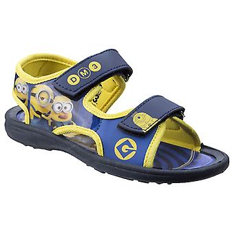 Leomil Kids Minions Touch Fastening Sandal Blue/Yellow