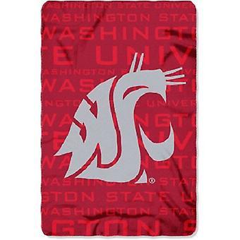 Washington State Cougars NCAA Northwest Shadow Fleece Throw