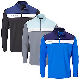 Stuburt Golf Mens 2020 Evolve Extreme Half Zip Mid Layer Windproof Golf Sweater