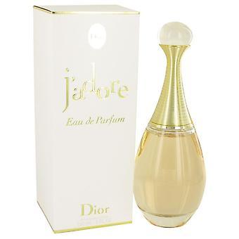 Jadore eau de parfum spray by christian dior 535036 150 ml