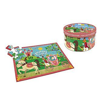 Scratch Puzzle 60st Princessenkoetshuis