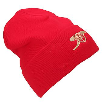 Arsenal FC Unisex Adults Core Cannon Knitted Hat