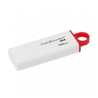 Pendrive Kingston FAELAP0240 DTIG4 32 GB USB 3,0 roșu alb