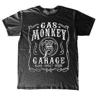 Gas Monkey garage Filigree Label bil officiella T-shirt