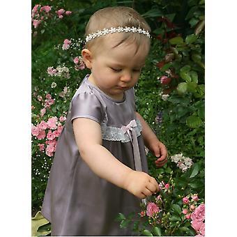 Festklänning Till Baby I Lavendel