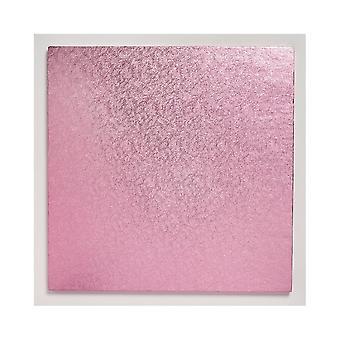 """Culpitt 12 """"(304mm) taart bord vierkant lichtroze Pack van 5"""