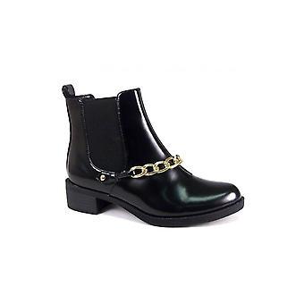 Moni Gold Chain Chelsea Boots