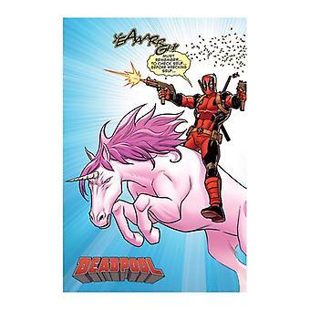 Deadpool, Affiche Maxi - Licorne