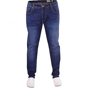 Duck and Cover Duck And Cover Mens High Quality Original Hardwearing Tapered Leg Denim Jeans Trousers