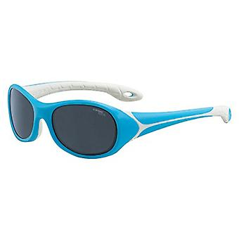 Cebe Flipper 3 to 5 Yrs Kids Sunglasses (Blue with 1500 Grey Blue Light Lens)