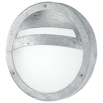 Eglo Sevilla - 1 Lys udendørs væg lys zinkbelagt IP44 - EG88119