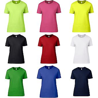 Anvil Womens/Ladies Fashion Semi-Fitted Short Sleeve T-Shirt