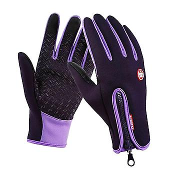 Touch Gloves, Purple