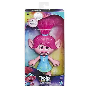 Trolls World Tour Superstar Poppy Fashion Doll