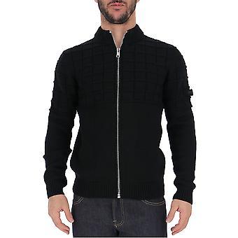 Prada Umc1161uojf0002 Männer's schwarze Wolle Pullover