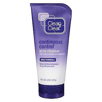 Pulire & deselezionare detergente acne di controllo continuo, 5oz