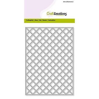 CraftEmotions Die - Skärgaller - Diamantkamussla kort 10,5x14,8cm