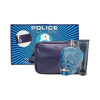 Polizia di essere uomo Eau de Toilette Spray 125ml Set regalo