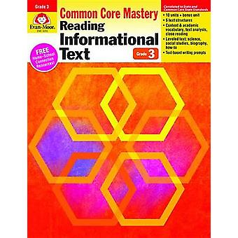 Reading Informational Text - Common Core Mastery - Grade 3 by Evan-Moo
