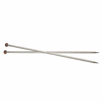 Nova Metal: Pins à tricoter: Unique-Ended: 30cm x 4.00mm