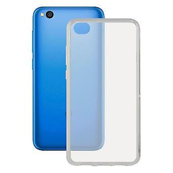 Capa móvel Redmi Go KSIX Flex Transparente